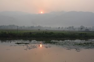 Inle See Sonnenuntergang